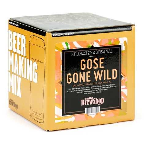 """Brooklyn Brew Shop - Beer making mix """"Stillwater Gose Gone Wild"""""""