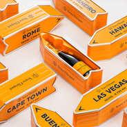 Veuve Clicquot Ponsardin - Metal Box Arrow - Veuve Cliquot Champagne