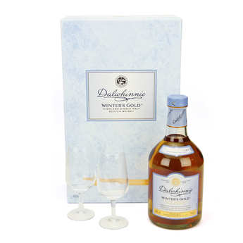 Dalwhinnie - Dalwhinnie Winter's Gold Whisky - 2 Glasses Case 43%