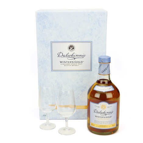 Dalwhinnie - Whisky Dalwhinnie winter's gold - coffret 2 verres 43%