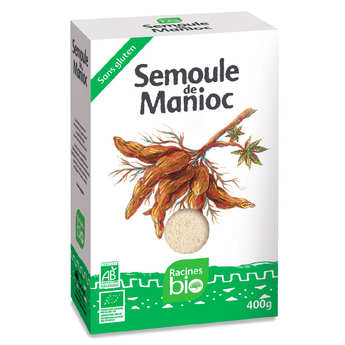 Racines - Organic and Gluten Free Cassava Semolina