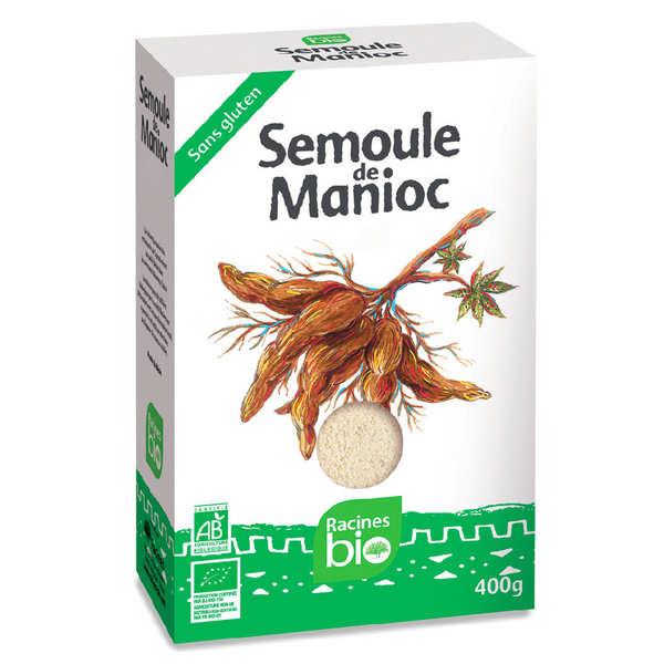 Organic and Gluten Free Cassava Semolina