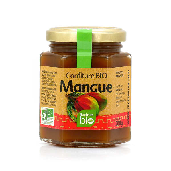 Confiture de mangue de Madagascar bio