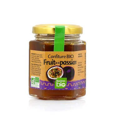 Confiture de fruit de la passion de Madagascar bio