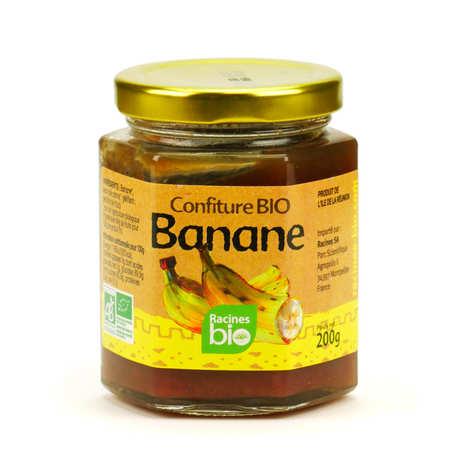 Racines - Confiture de banane de Madagascar bio