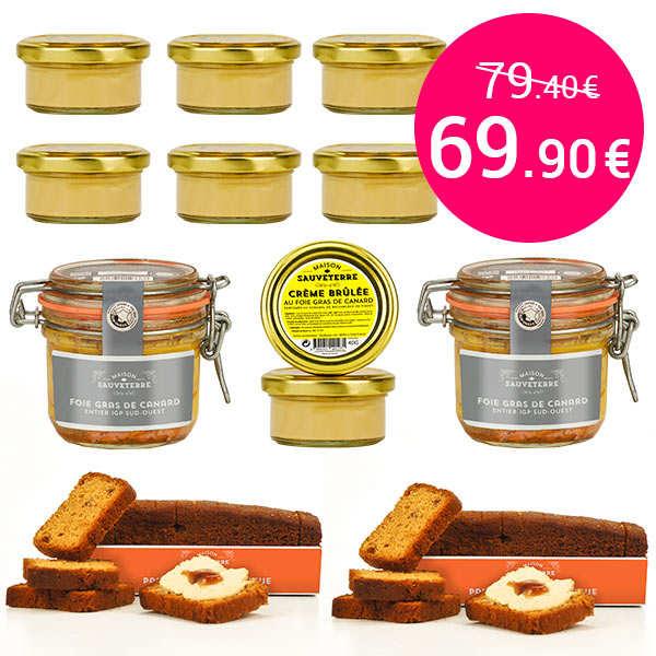 Gourmet specialties around foie gras