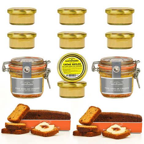 Maison Sauveterre - Spécialités gourmandes autour du foie gras
