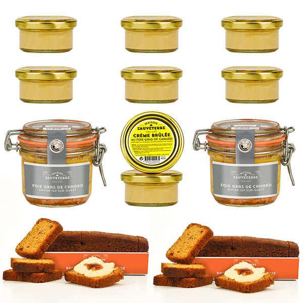 Spécialités gourmandes autour du foie gras
