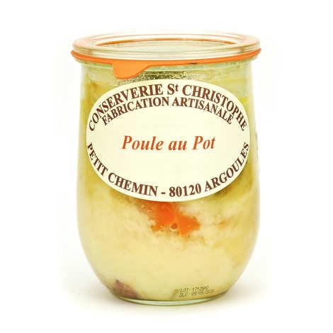 "Conserverie Saint Christophe - ""Poule au pot"" Traditionnal French Chicken Stew"