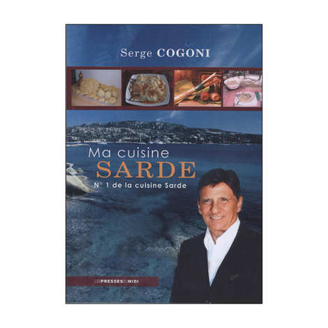 Presses du Midi - Ma cuisine sarde by Serge Cogoni (french book)