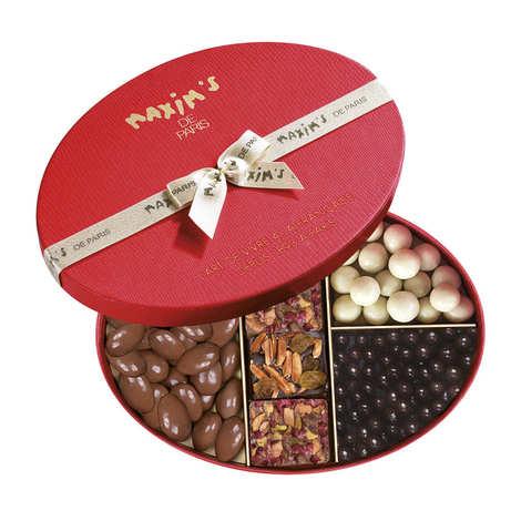 """Maxim's de Paris - Coffret assortiment de chocolats """"Grignotage"""" - Maxim's"""