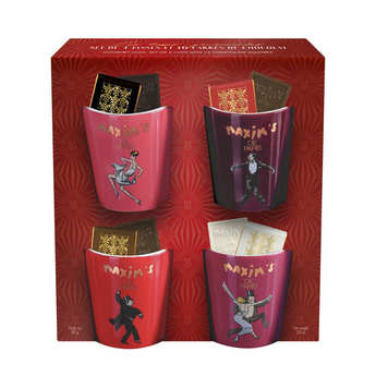 "Maxim's de Paris - Coffret ""Tasses Gourmandes"" avec chocolats assortis - Maxim's"