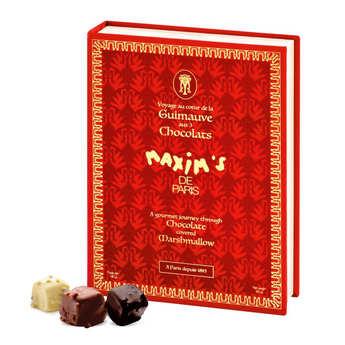 Maxim's de Paris - Coffret assortiment de guimauves enrobées de chocolat - Maxim's