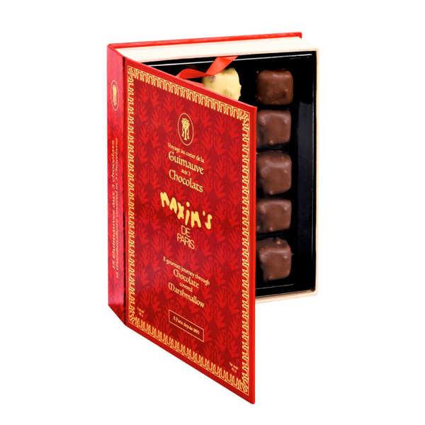 Coffret assortiment de guimauves enrobées de chocolat - Maxim's