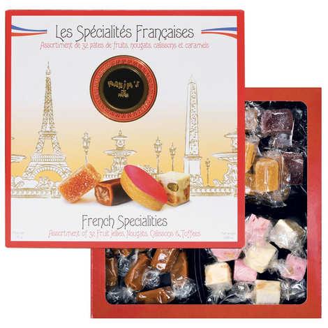 Maxim's de Paris - Coffret assortiment de spécialités françaises - Maxim's