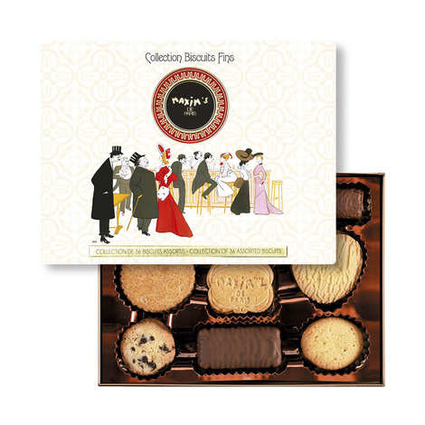 Maxim's de Paris - Assorted Fine Biscuits Box - Maxim's