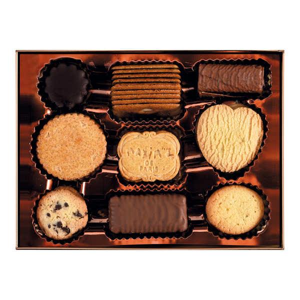 Boîte assortiment de biscuits fins - Maxim's