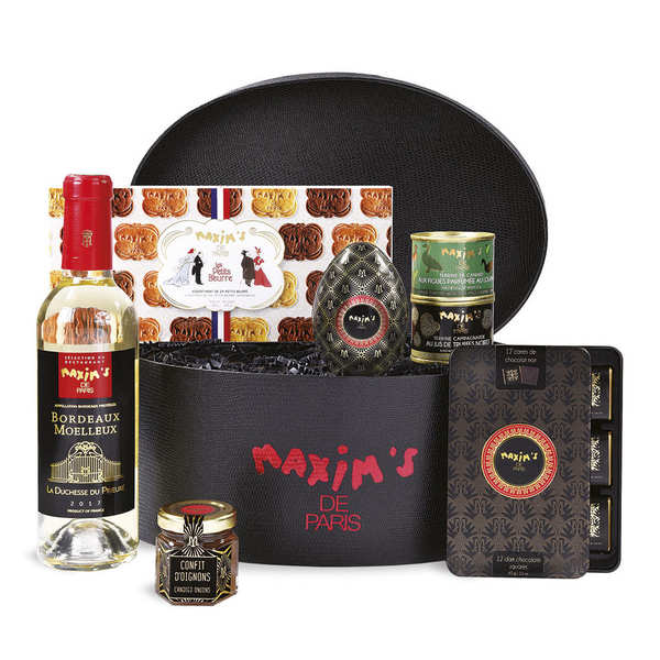 """Coffret """"Intensément chocolat"""" Collection Belle Epoque - Maxim's"""