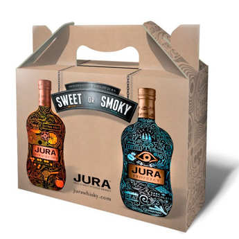 Isle of Jura - Coffret cadeau whisky Jura 4 x 20cl