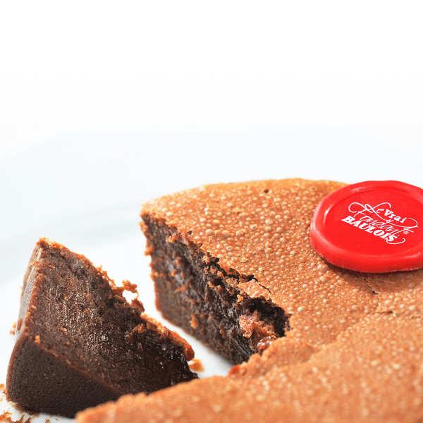"The True ""Fondant Baulois"" -  Chocolate Cake"