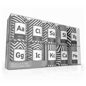 Saveurs MOLÉCULE-R - Kit de cuisine moléculaire Chef Professional Pack