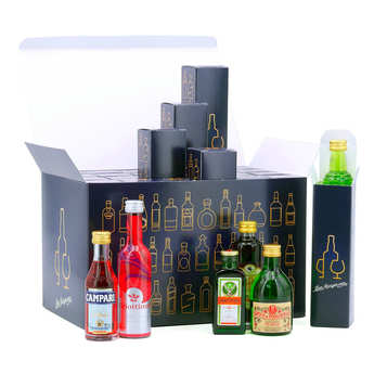 BienManger paniers garnis - Spirit Advent Calendar - 24 sample bottles