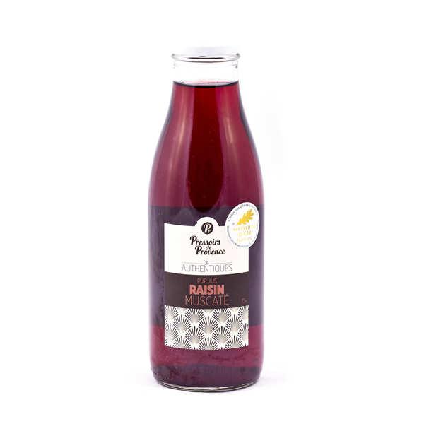 Pur jus de raisin muscaté - bouteille 75cl