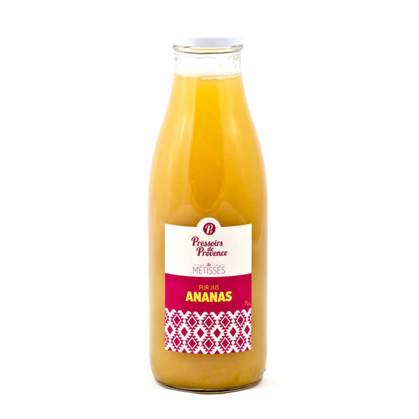Pur jus d'ananas - bouteille 75cl