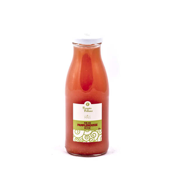 Pure Pink Grapefruit Juice - Pressoir de Provence