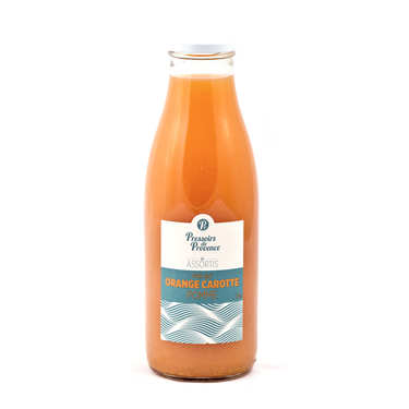 Pure Orange Carrot Apple Juice