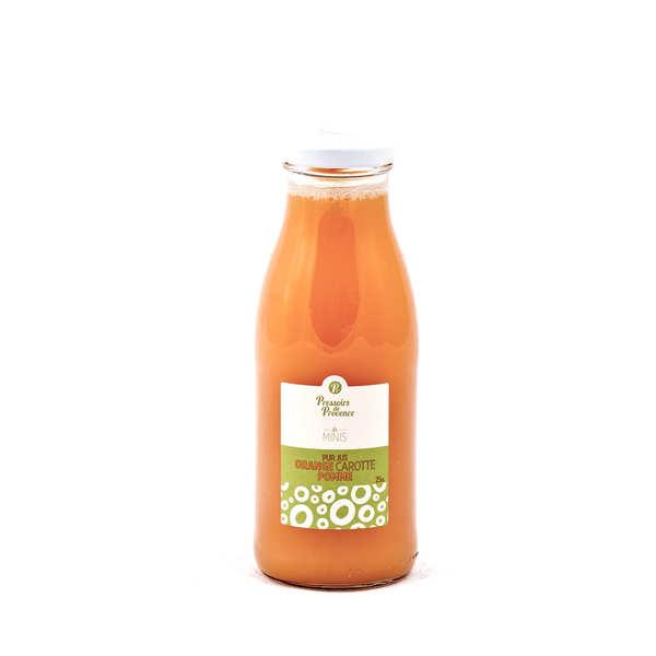 Pur jus orange carotte pomme