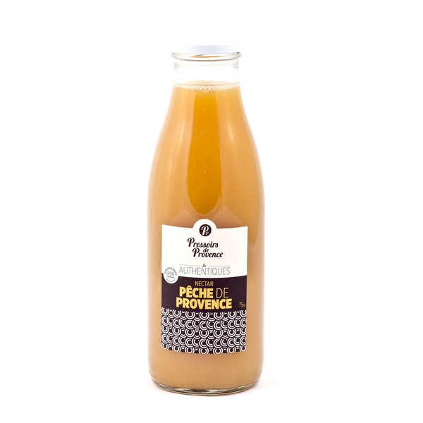 Nectar de pêche jaune de provence - bouteille 75cl