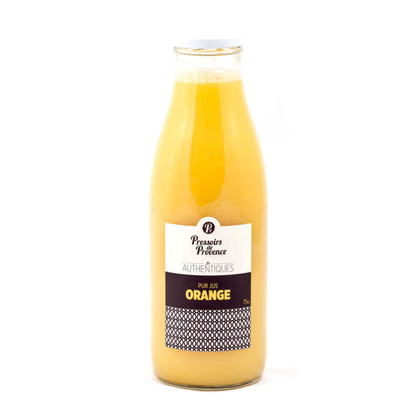 Pur jus orange - Pressoir de Provence