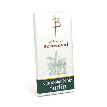 Abbaye Notre Dame de Bonneval - Tablette chocolat noir surfin 53%