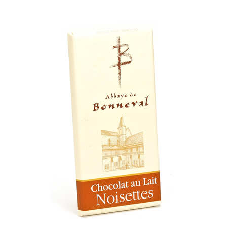 Abbaye Notre Dame de Bonneval - Milk Chocolate Bar with Hazelnuts 30%