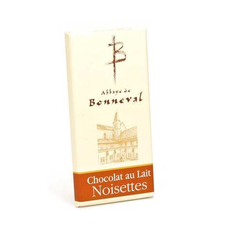 Abbaye Notre Dame de Bonneval - Tablette chocolat au lait et noisettes 30%