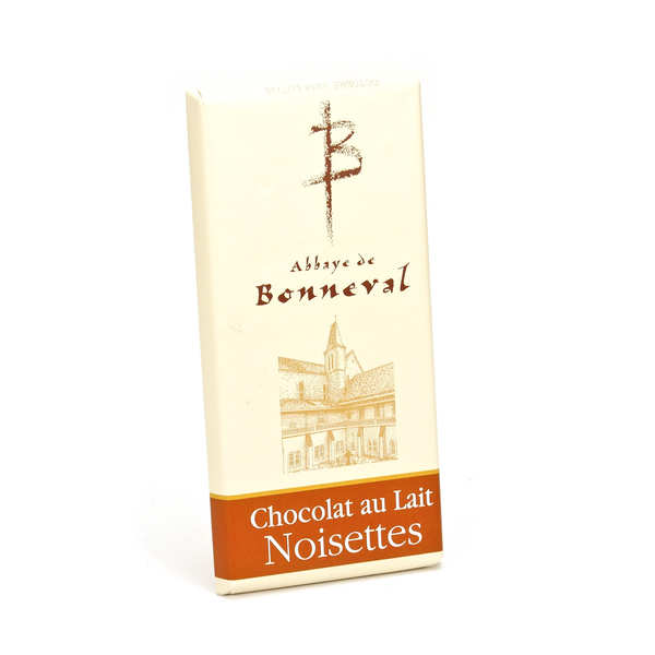 Tablette chocolat au lait et noisettes 30%