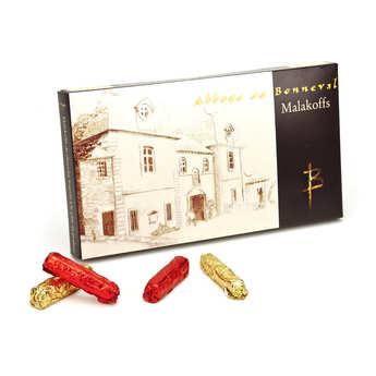 Abbaye Notre Dame de Bonneval - Barre chocolat noir fourré praliné - Malakoff