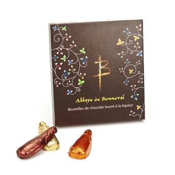 Abbaye Notre Dame de Bonneval - Liqueur Chocolate Candy in Bottle Shape