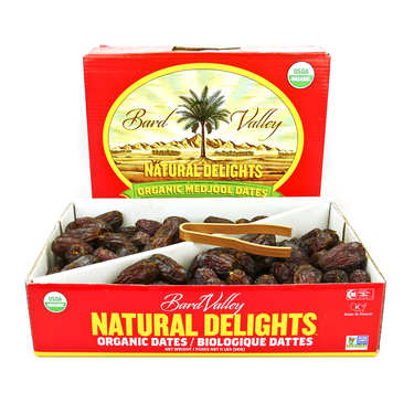 Organic Medjool dates from California
