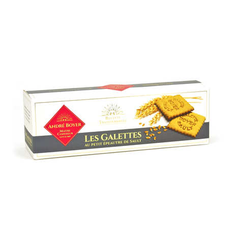 Confiserie André Boyer - Einkorn Wheat Shortbread Biscuit from France