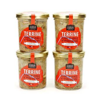 Terroir Parisien - Terrine de foies de volaille de Yannick Alléno
