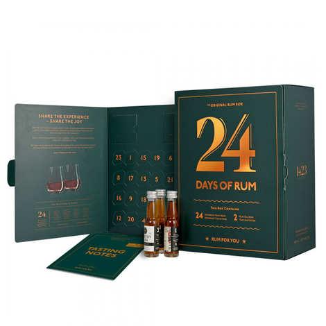 BienManger paniers garnis - Rum Advent Calendar - 24 miniatures