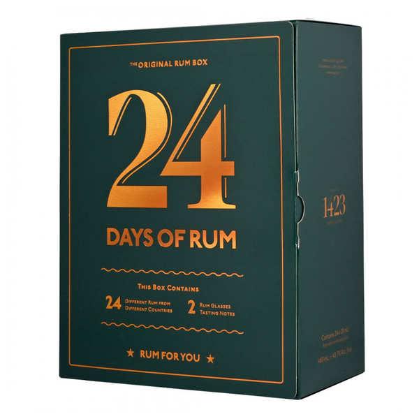calendrier de l 39 avent rhum 24 mignonnettes bienmanger. Black Bedroom Furniture Sets. Home Design Ideas