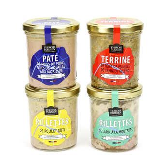 Terroir Parisien - Assortiment de terrines et rillettes Terroir Parisien