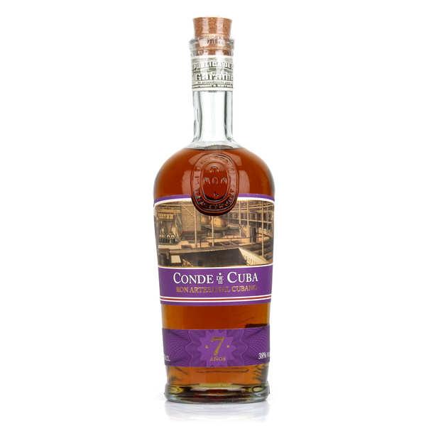 Conde de Cuba Rum 7 years 38%
