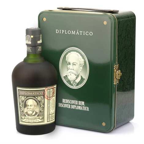 Destilerias Unidas - Coffret cadeau Rhum Diplomatico valise diplomatique