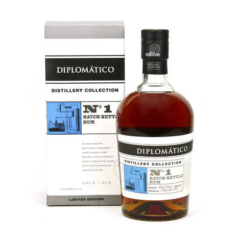 Destilerias Unidas - Diplomatico Distillery Collection Batch Kettle Rum 47%