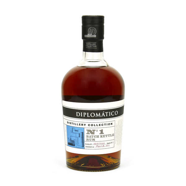 Diplomatico Distillery Collection Batch Kettle Rum 47%