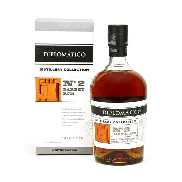 Diplomatico Distillery Collection Barbet Column Rum 47%